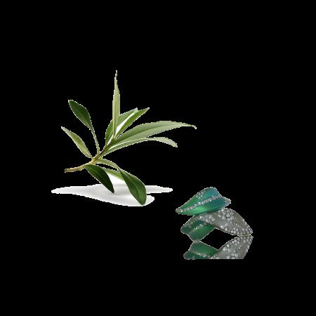 anello foglia olivo
